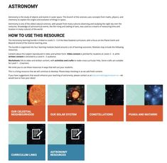 Astronomical Events, Science And Nature, Planet Earth, Outer Space, Night Skies, Astronomy, Chemistry, Curriculum, Evolution