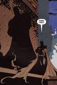 """Cast a Shadow"" by Tim Sale."