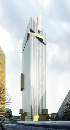 Da Gennin Tower, Ekaterinburg by Valode and Pistre Architects