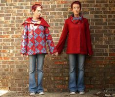 Draft and sew costum fit reversible jacket tutorial via instructables
