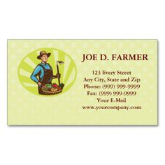 27 best farm business card images on pinterest agriculture organic farmer green grocer business card colourmoves
