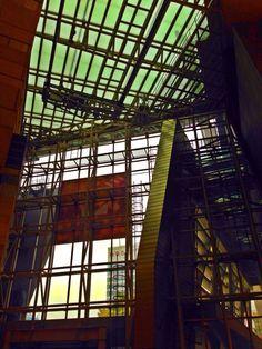 Inside of Building Japan