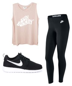 """Untitled #9"" by gabbyfuentes2001 on Polyvore featuring NIKE"