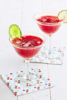 Honeyed Cherry Daiquiri