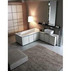 Luxury Quality Italian Bathroom Furniture by Karol at Exclusive Home Interiors. Modern White Bathroom, Modern Vanity, Make Up Storage, Built In Storage, Luxury Bathroom Vanities, Luxury Bathrooms, Italian Bathroom, Bathroom Floor Plans, Mirror Cabinets