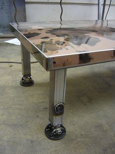 Car Hoods Make Amazing Coffee Tables Project number one