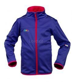 LOAP Dětská softshellová bunda MAXO M25M Motorcycle Jacket, Athletic, Zip, Jackets, Fashion, Down Jackets, Moda, Athlete, Fashion Styles