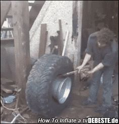 "I've done this with starting fluid. All I can say is don't do it in the garage. It was so loud, all my neighbors came out of their houses. I had to try to play it off like. "" WTF was that?"" Next time, maybe I'll use less starting fluid. Funny Sites, Best Funny Videos, Beste Gif, Les Gifs, Car Humor, Adult Humor, Cool Tools, Fun Facts, Funny Pictures"