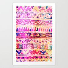 Tribal  Art Print by Samantha Rae - $14.56