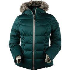 Obermeyer Women's Bombshell Jacket - 10 Petite - Glamp Green