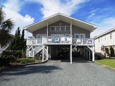 Ocean Isle Beach House Rentals: 145E1 - Second Row Home rental