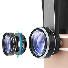 £10.00 (41% Off) on LootHoot.com - iPhone Lens, 3 in 1 Phone Camera Lens Kit 198 Degree Fisheye Lens + 0.63X Wide Angle Lens + 20X Macro Lens with 3 Separate Lens for iPhone 7/6/6sPlus 7/6s/6/5s/5/SE Samsung Blackberry LG HTC Huawei and Other Mobile phone