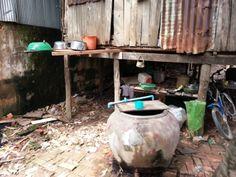 Brick factory conditions in Cambodia.