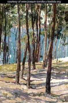 Pine Trees, Galicia (Pinos de Galicia) - Joaquin Sorolla y Bastida
