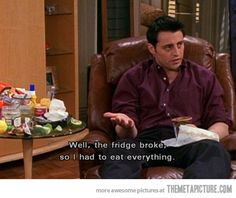 Joey Tribbiani's Logic