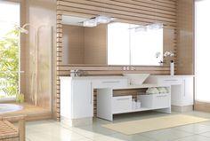 Banheiros Pequenos planejados, além de ótimas sugestões para valorizar sua casa ou apartamento.