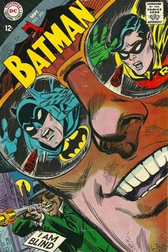 The sketch for this Irv Novick BATMAN cover had to have been done by Carmine Infantino, who had been brought on staff by DC in the late 1960s to punch up the graphics of their line, which had grown stale over teh years. It's a masterful cover–that...
