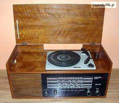 ODBIORNIK RADIOWY DML-351 25502 (STACJONARNY)  PRODUCENT - Zakłady Radiowe UNITRA-DIORA Dzierżoniów