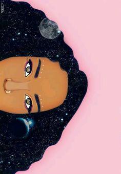 pop art to draw Black Girl Art, Black Women Art, Black Art, Art Pop, Pop Art Girl, Arte Black, Natural Hair Art, Art Africain, Afro Art