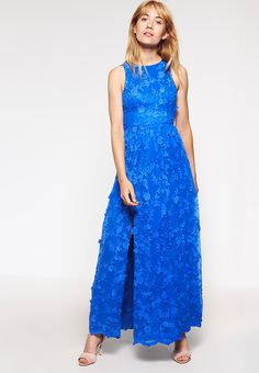 Chi Chi London BIRDIE - Occasion wear - royal blue Women Cocktail Dresses,chi chi london navy floral dress,designer fashion