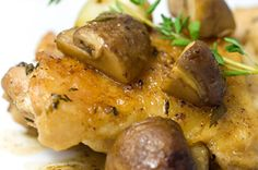 Low Carb Chicken and Mushrooms