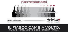 Il 7 settembre Drinkdifferent cambia volto: nuovo nome, nuovo logo, stessa magia e stesso divertimento!!!