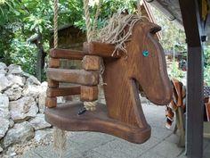lovas hinta, zsopa, meska.hu #horse #swing Horses, Bird, Outdoor Decor, Hanging Chairs, Home Decor, Driftwood Art, Decoration Home, Room Decor, Birds