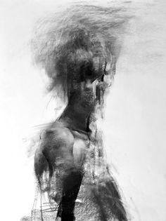 "Saatchi Art Artist Zin Lim; Drawing, ""Figure#D01"" #art"