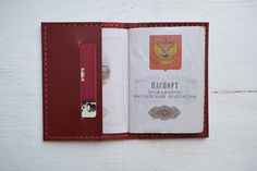 обложка для паспорта, 100 % натуральная кожа, 100 % ручная работа