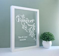40% off sale Forever Design Papercutting by TommyandTillyDesign