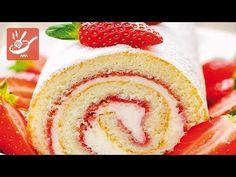 Rotolo alla crema e fragole - Torte e crostate