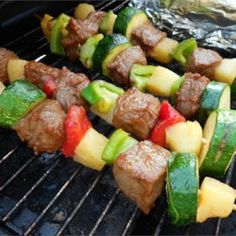 Beef Shish Kebabs for Freezer Cooking - Allrecipes.com
