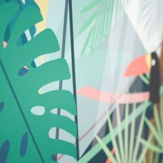 Image of Affiche - Tropical © #Pramax Papeterie ludique & créative - 2016