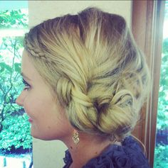 Hair Inspiration: FAT BRAIDED CHIGNON by KirbieJohnson. Browse our real-girl gallery #TheBeautyBoard on Sephora.com & upload your own look for the chance to be featured here! #Sephora #hairstyles