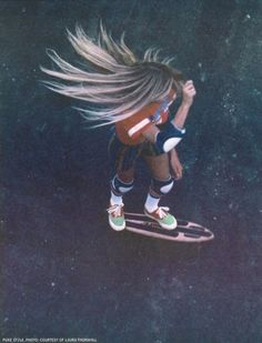 Amazing skate boarding shot - let the good times roll