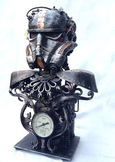 The Philippines First Steampunk Art Exhibit  https://www.facebook.com/events/353552931467253/ Sculpture by Ram Mallari Jr