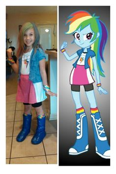 Rainbow Dash Equestria Girls  sc 1 st  Pinterest : rainbow dash halloween costume  - Germanpascual.Com
