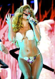 Lady Gaga mermaid outfit