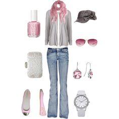 Grey & Pink <3