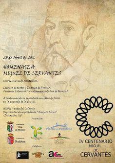 Ossa de Montiel - Homenaje a Miguel de Cervantes - 23 de Abril de 2016