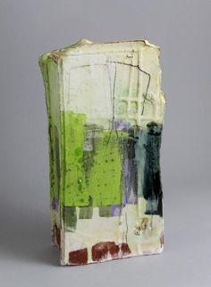 Slab Vessel with Green - Barry Stedman