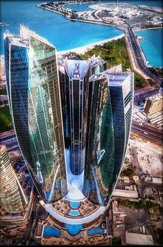 Etihad Towers - Abu Dhabi - Emiratos Árabes Unidos