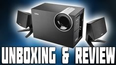 Edifier M1380 PC Speakers & SubWoofer Unboxing With Audio Test