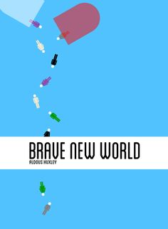 Brave New World, Cover by Mal Jones Book cover / Artwork (4)