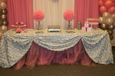 Princess Baby Shower Party Ideas | Photo 8 of 22 | Catch My Party