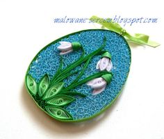 Easter egg #quilling