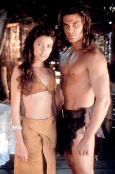 Casper Van Dien Tarzan | TARZAN AND THE LOST CITY, Jane March, Casper Van Dien, 1998, (c)Warner ...