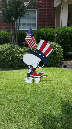 4th of July Snoopy