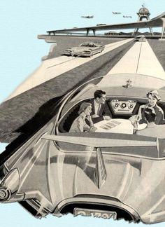 retro futuristic vehicles - Google Search