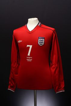 England Football Shirt (Away, England Match, England Football Shirt, Everton Fc, Football Kits, Numbers, Jackets, Shirts, Ideas, T Shirts